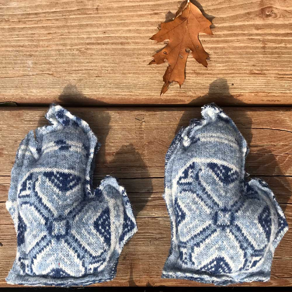 Blue Michigan Hand Warmers