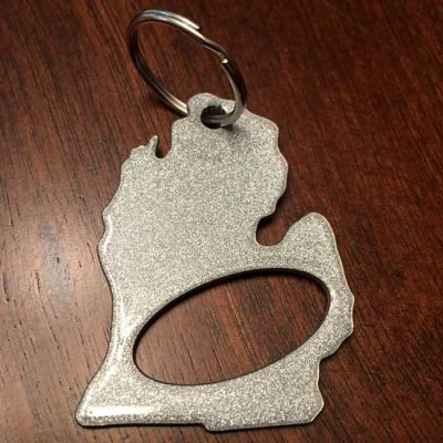Michigan Keychain Bottle Opener
