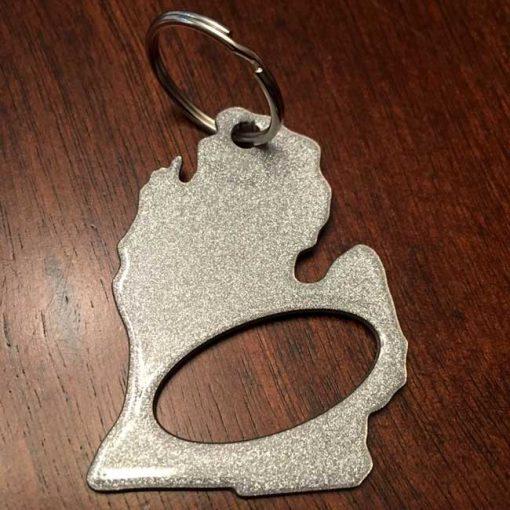 Michigan Key Chain Bottle Opener