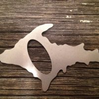 Wallet Upper Michigan Bottle Opener