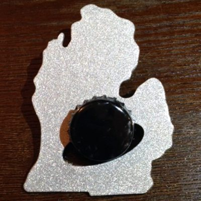Wallet Lower Michigan Bottle Opener