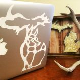 Michigan Deer Design Decal
