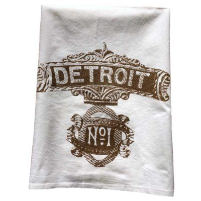 Detroit No.1 Towel