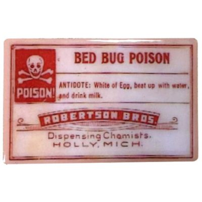 Vintage Pharmacy Magnet