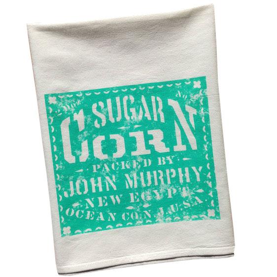 Vintage Graphic Sugar Corn Towel