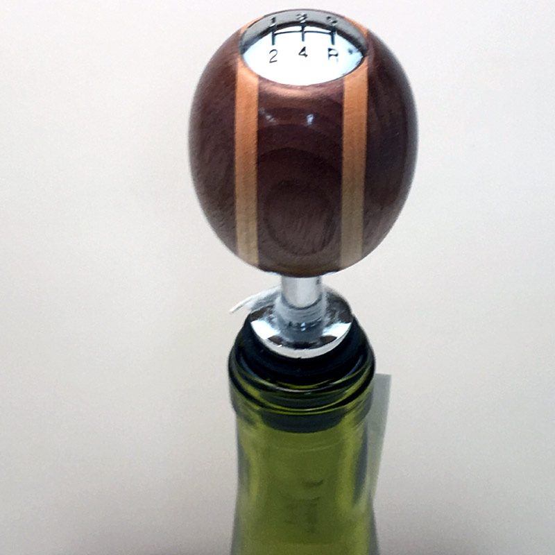 Gear Shift Wine Bottle Stopper