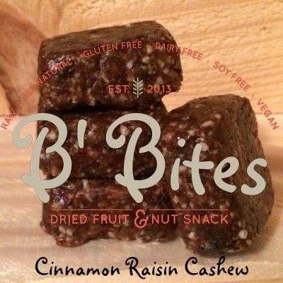 Cinnamon Raisin Cashew Brownie