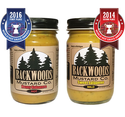 Honey Habanero and Sweet Jalapeno Mustard 2 Pack
