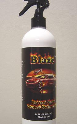 blaze-wax