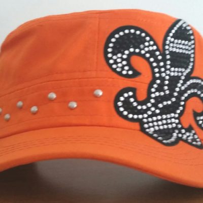 cadet-hat-orange-bling