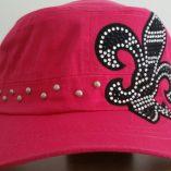 cadet-hat-pink-bling