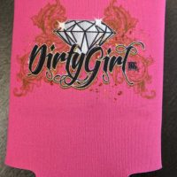 Dirty Girl Diamond Can Cooler