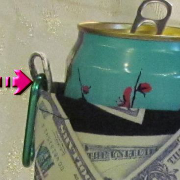 money koozie