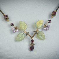 Amethyst Pixie Necklace