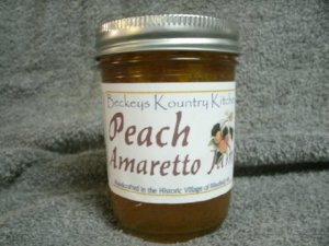 Peach Amaretto Jam