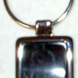 Verde Antique Marble Keychain