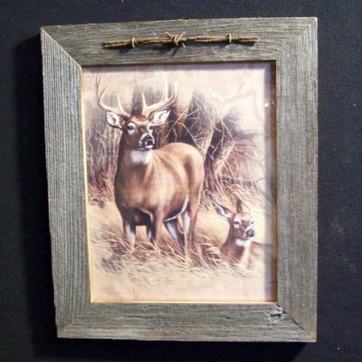 wood-barbed-wire-frame-deer-CP-134