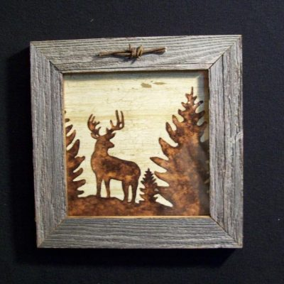 wood-barbed-wire-frame-deer-brown-CP-129
