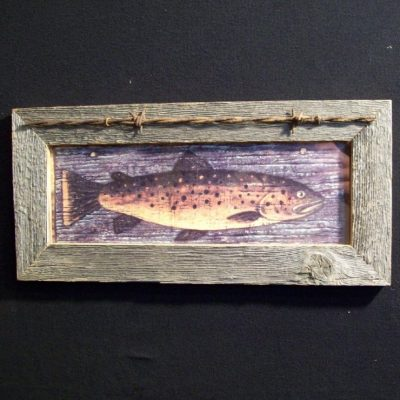 wood-barbed-wire-frame-fish-trout-CP-128