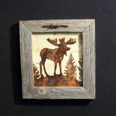 wood-barbed-wire-frame-moose-brown-CP-129