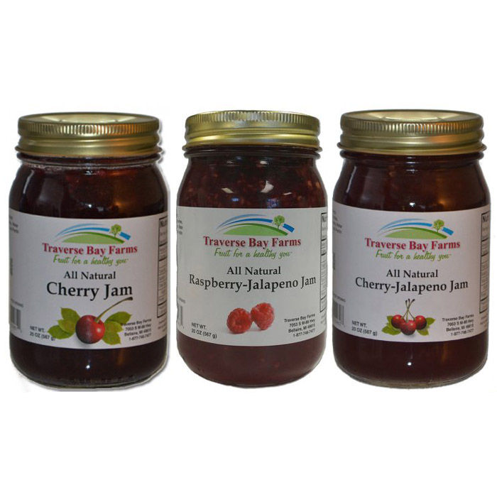 Traverse Bay Farms All Natural Fruit Jam
