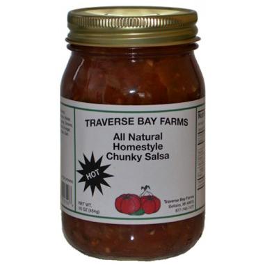Traverse Bay Farms Chunky Hot Salsa