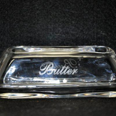 Laser Engraved Butter Dish
