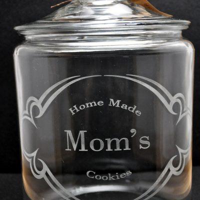 Laser Engraved Mom Cookie Jar