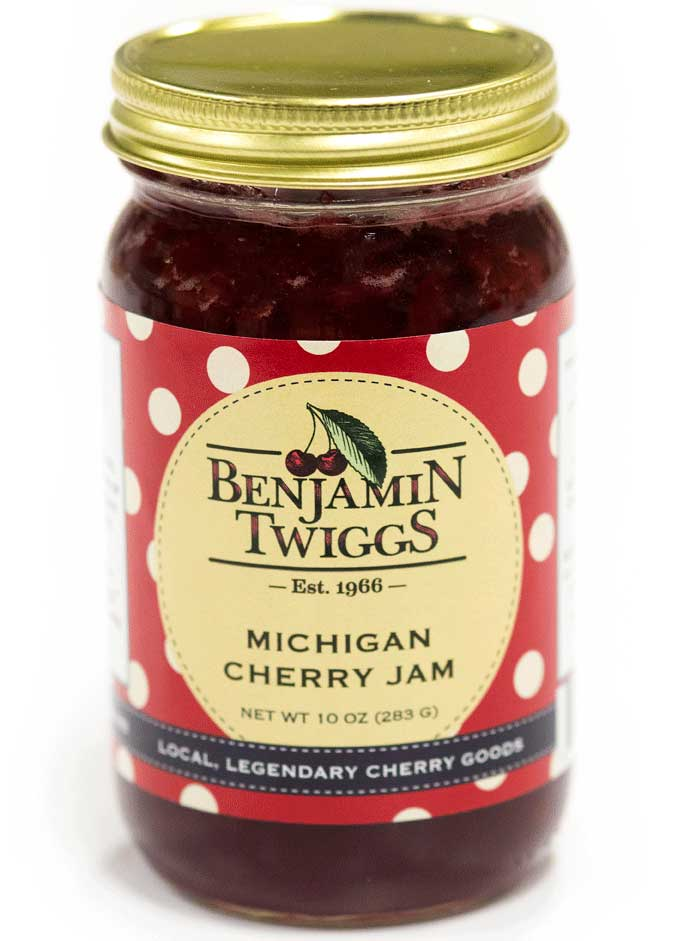 Michigan Cherry Jam - Made In Michigan Products & Gifts