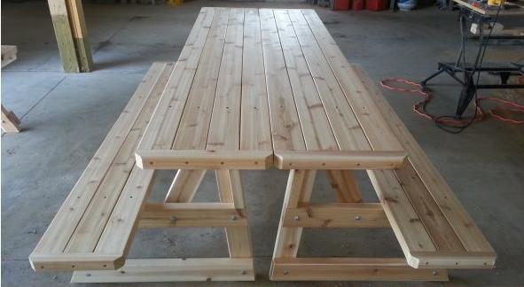 PicABench Convertible Picnic Table - Picnic table michigan