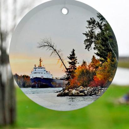 Glass Photo Ornaments Small Sun Catchers
