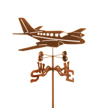 Airplane Twin Weathervane