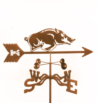 Arkansas University Weather Vane