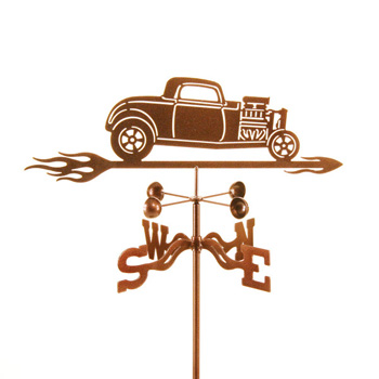 32 Ford With Blower Weathervane