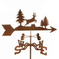 Deer Jumping Weathervane