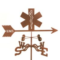 Emergency Medical Services Weather Vane