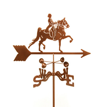 Horse – English Rider Weathervane