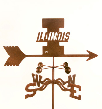 Illinois University Weather Vane