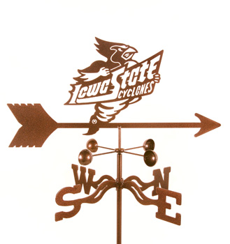 Iowa State University Weather Vane