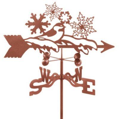 Snowflakes Weathervane
