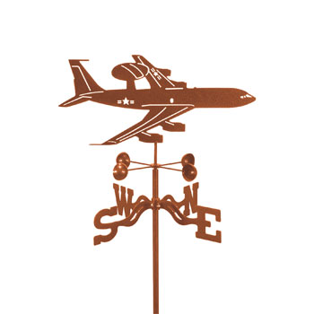 Airplane Awacs Weathervane