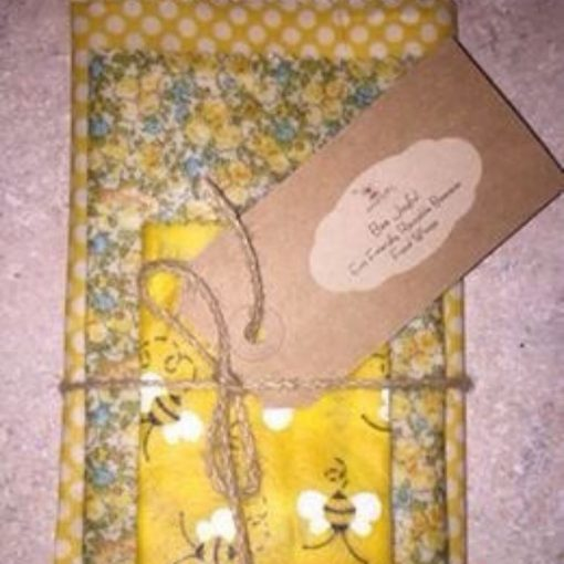 Bubbly Bee Beeswax Food Wrap