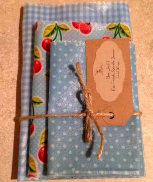 Cherry Beeswax Food Wrap