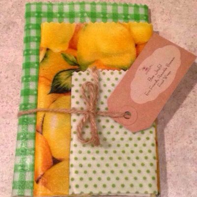Lemon Beeswax Food Wrap