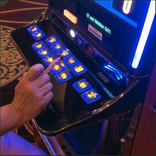 Use the Kooty Key on the Slot Machines