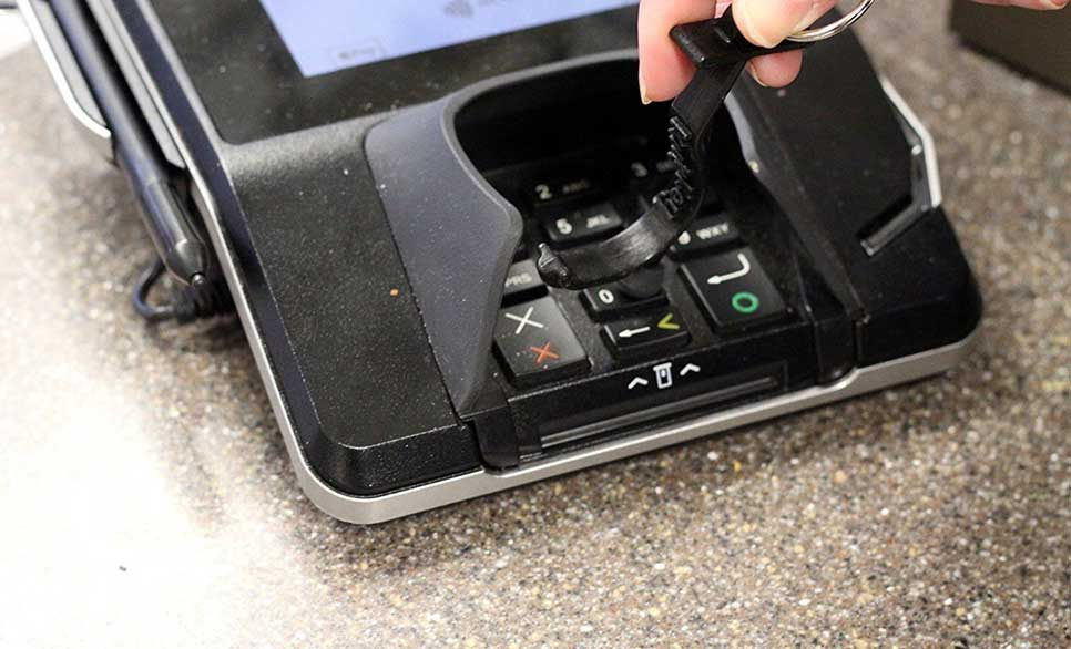 Use Kooty Key for Electronic Payment