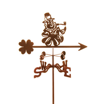Leprechaun Weather Vane