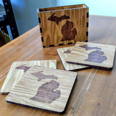 Michigan Coaster Set