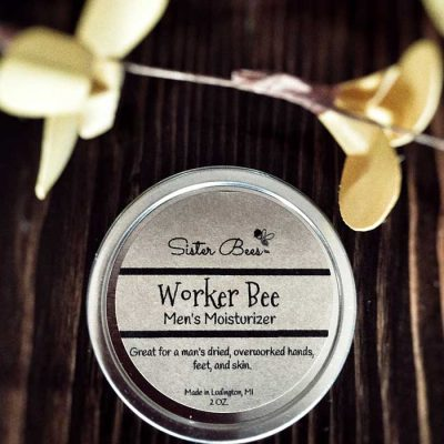 All Natural Worker Bee Moisturizer for Men