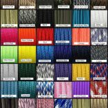 Paracord Colors Chart